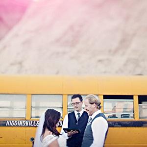 ceremonyinfrontofschoolbus