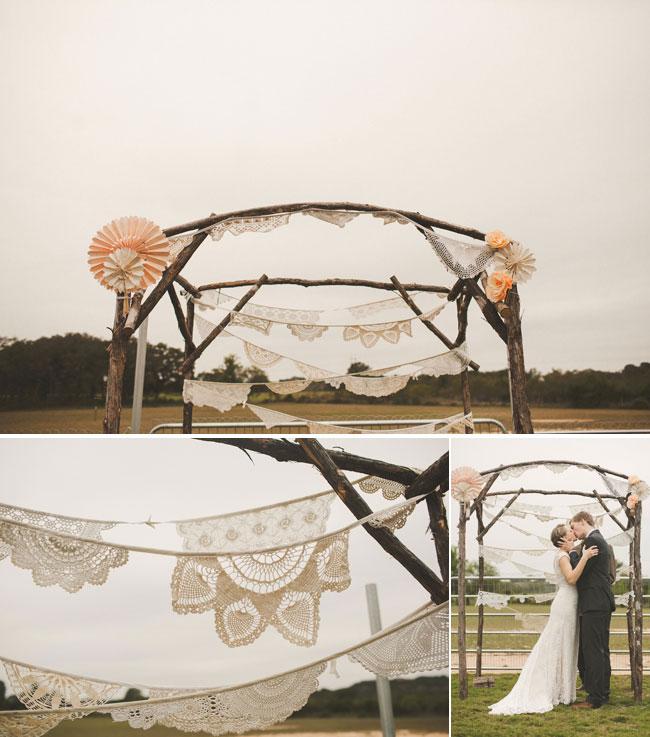 intimate Texas wedding ceremony