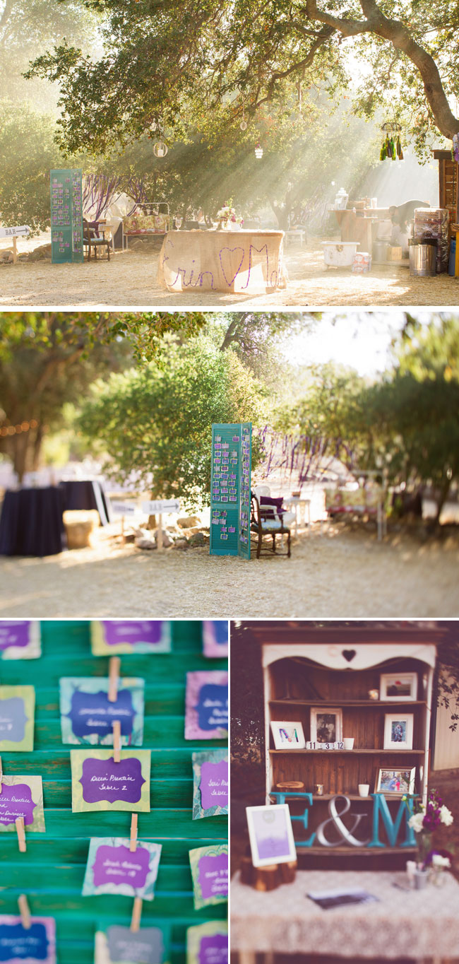 DIY handmade projects for outdoor budget friendly wedding
