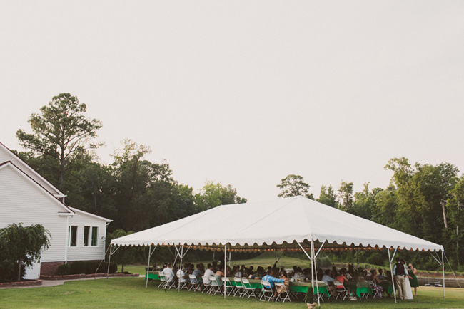 marquee tent outdoors