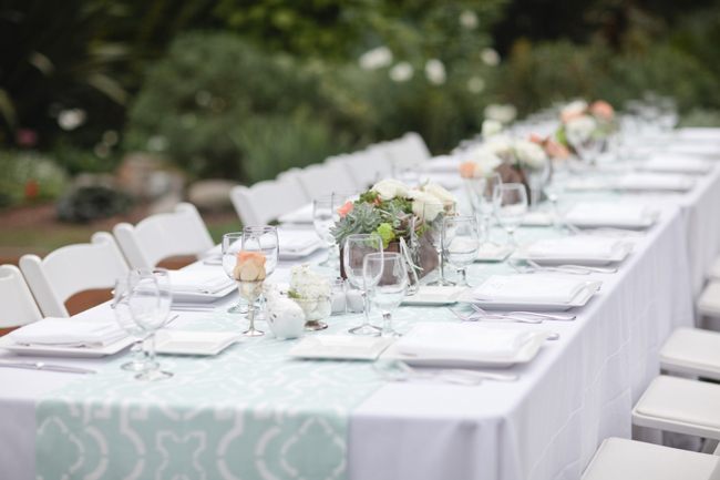 rustic whimsy outdoor wedding reception