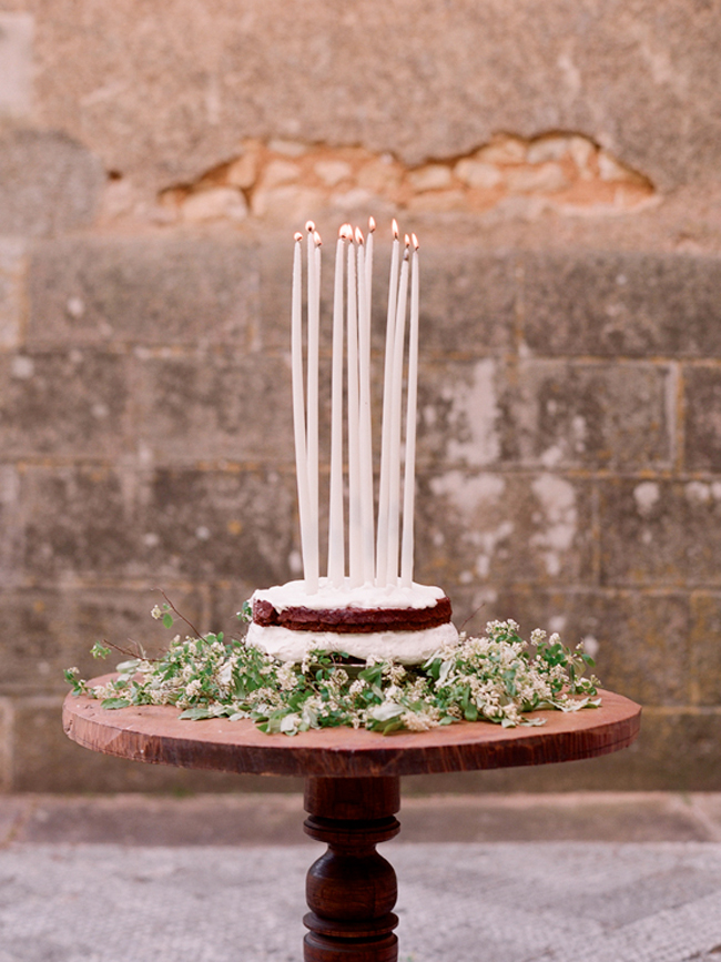 Long candles for a birthday cake--or even wedding cake!