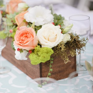 rustic whimsy wedding flowers