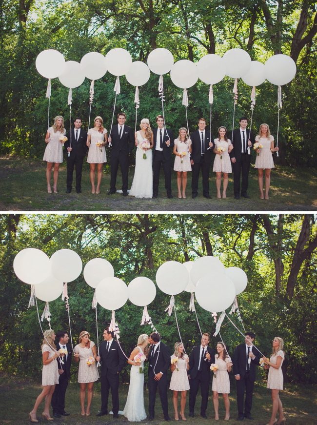 Whimsical garden party wedding for Balloon decoration for engagement party