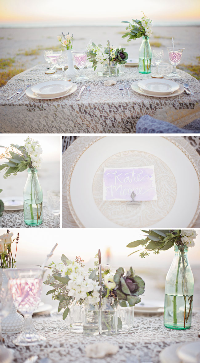 Don Cesar Beach Resort styled shoot table setting decor