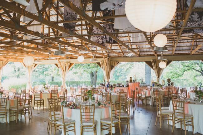 Audubon Center Wedding reception