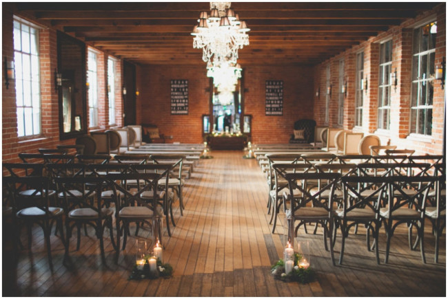Carondelet House wedding ceremony space