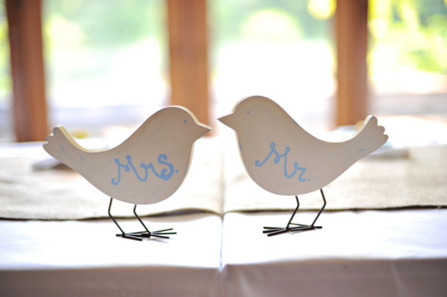 mrs and mr wood birds