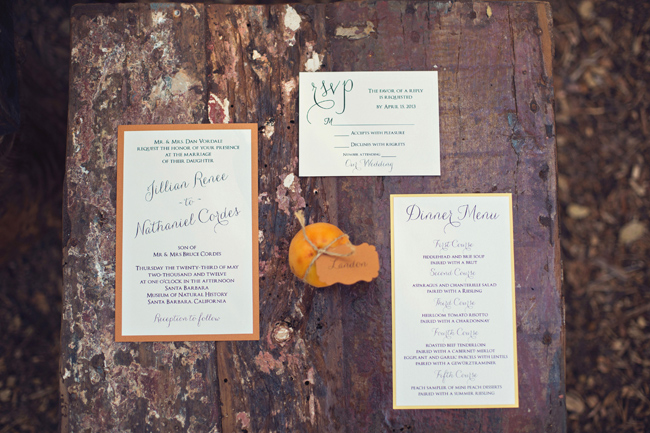 rustic styled shoot invitation and RSVP