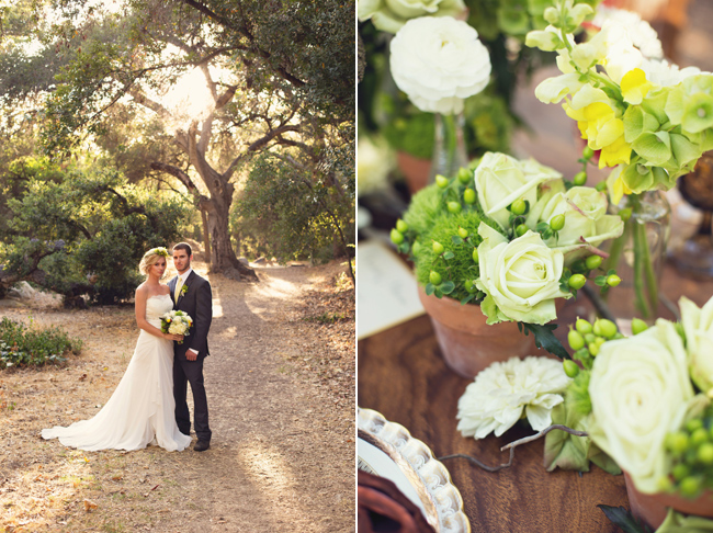 rustic styled shoot bride and groom at Santa Barbara Museum of Natural History