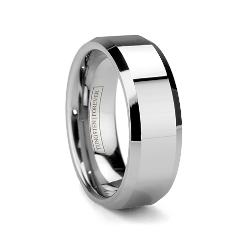 Olympus-Beveled-Edges-Tungsten Ring