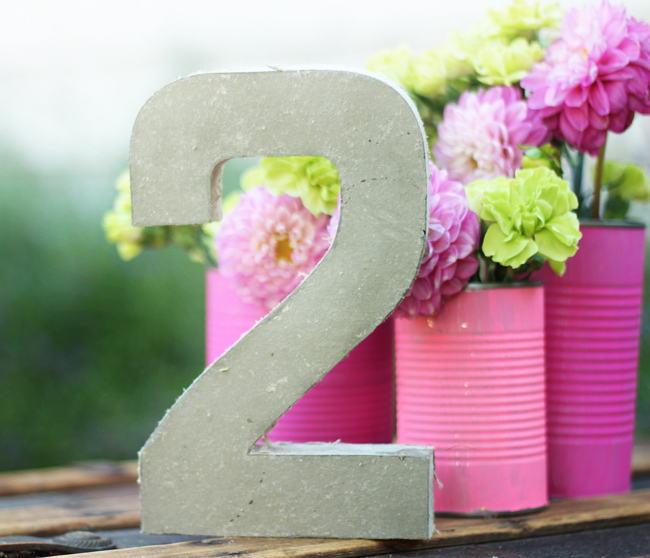 concrete table number two