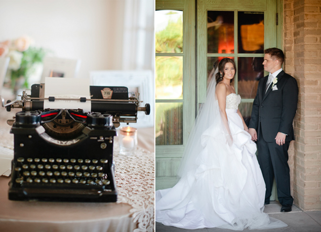 Neutral Elegant Outdoor Wedding: Neutral Elegant Wedding