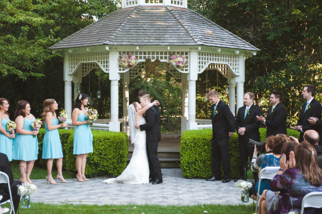 Tiffany Blue Wedding Ceremony