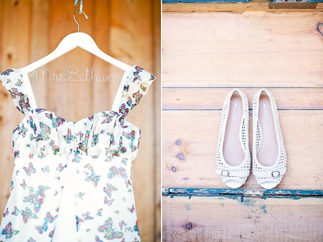 personalized wedding hanger with butterfly pattern dress and shoes