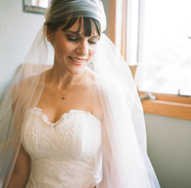 Bride and Bridal Cap