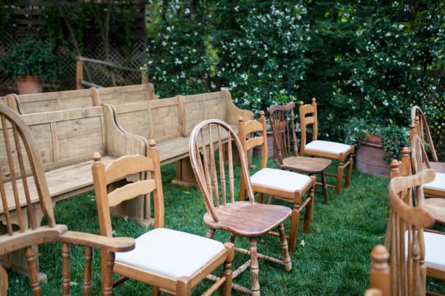 electic fun wedding seating