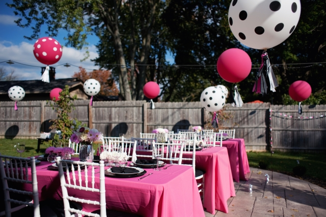 Kate Spade Inspired Bachelorette Party
