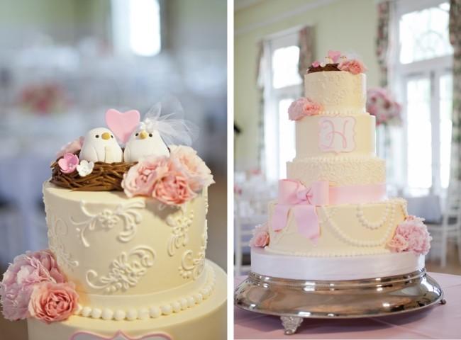 Elegant Romantic Wedding Cake