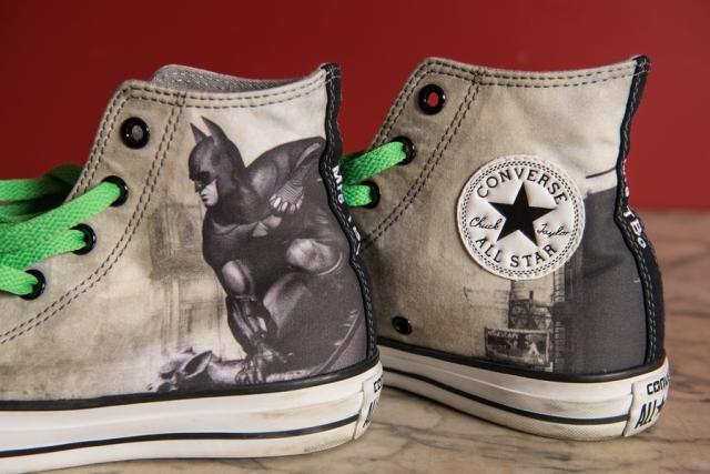 Shoe Themed Wedding - Batman Sneakers