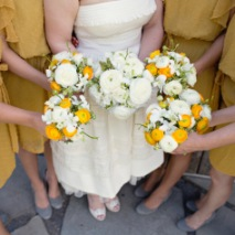 Mustard and Grey Barn Wedding
