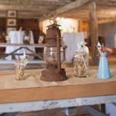 Rustic Barn Wedding with Lobster
