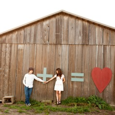 Rustic Engagement Session in Santa Cruz