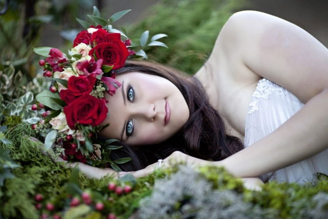 Styled Bridal Photo Shoot
