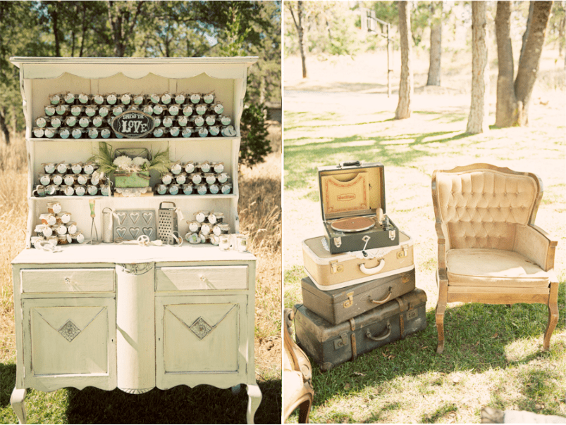 Vintage chic wedding at leaning tree lodge - Vintage and chic love ...