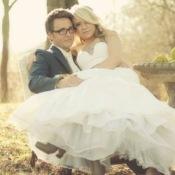 Burlap Inspired Wedding