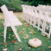 Fall Wedding in California