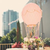 Hot Air Balloon Wedding Theme