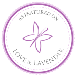 Featured on Love & Lavender