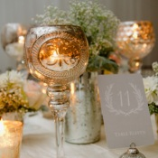 Mercury Glass Wedding