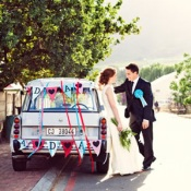 Stylish South African Wedding