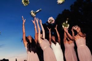 Fall wedding coordinated by San Miguel Weddings at Casa Tortuga