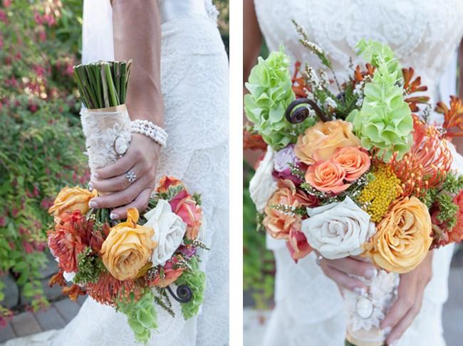 colorful floral bouquet