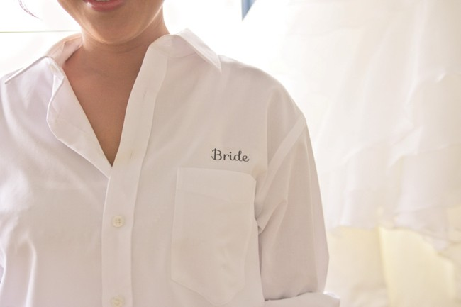 bride button down