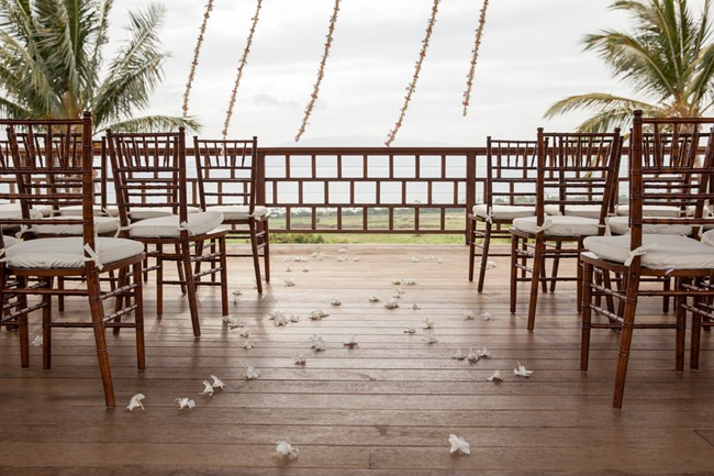 Ceremony seating in hawaii