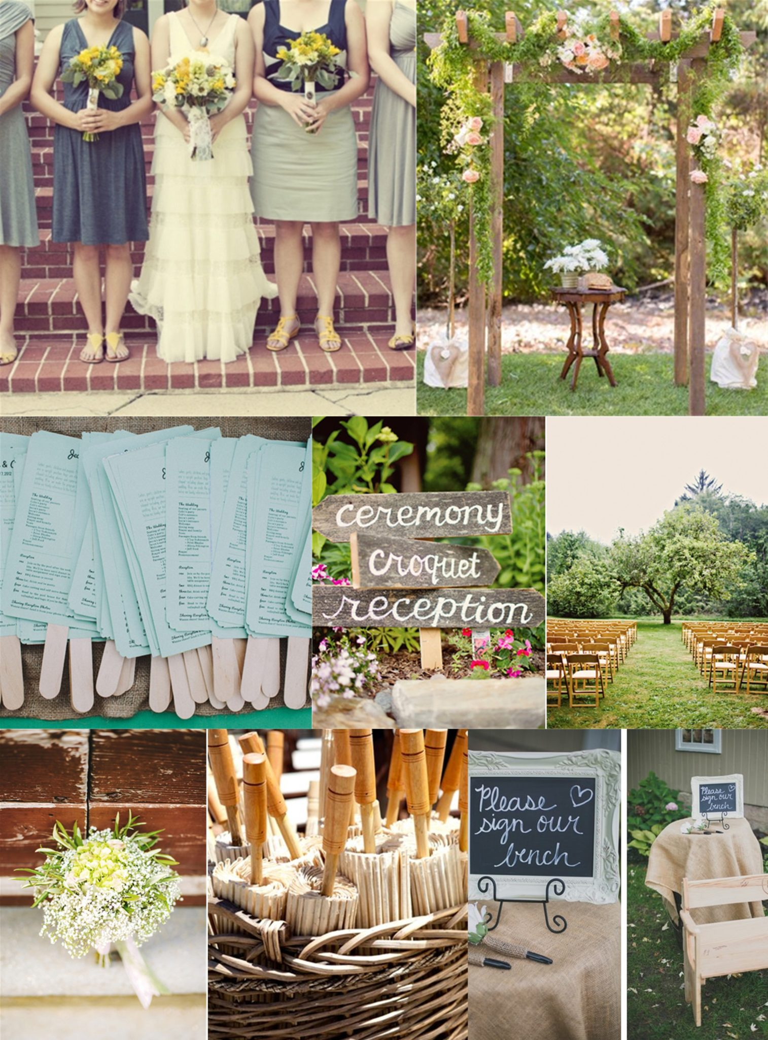 Essential Guide To A Backyard Wedding On A Budget - Small backyard wedding ideas