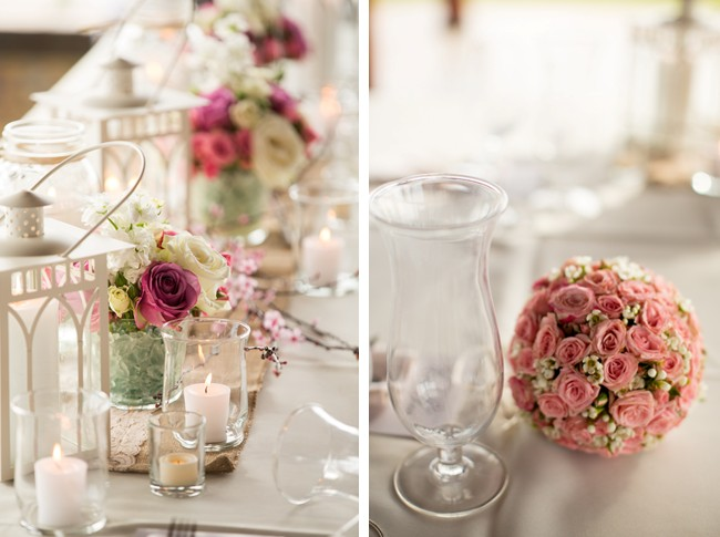 flower ball and flower center pieces