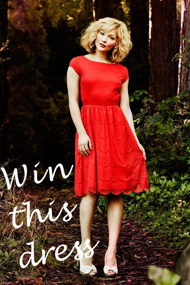 win this dress Alice by shabby apple