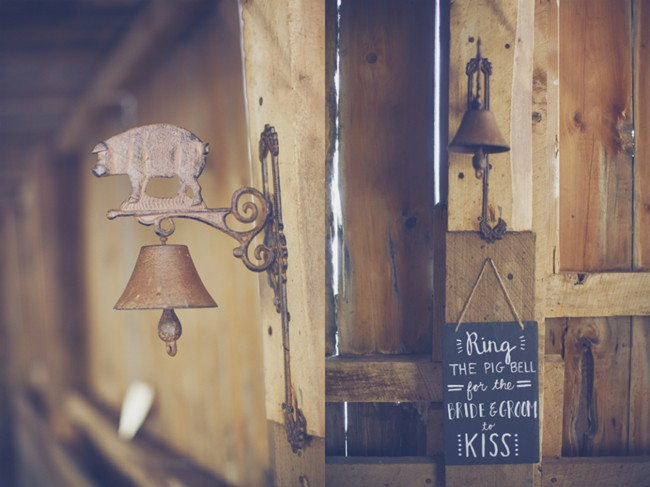 ring the bell for a kiss