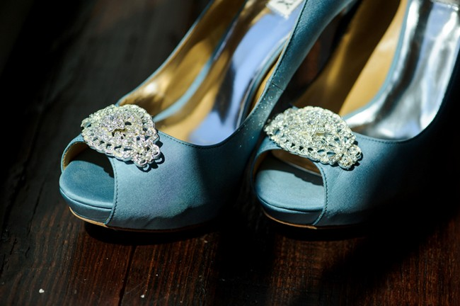 Blue manolo blahnik