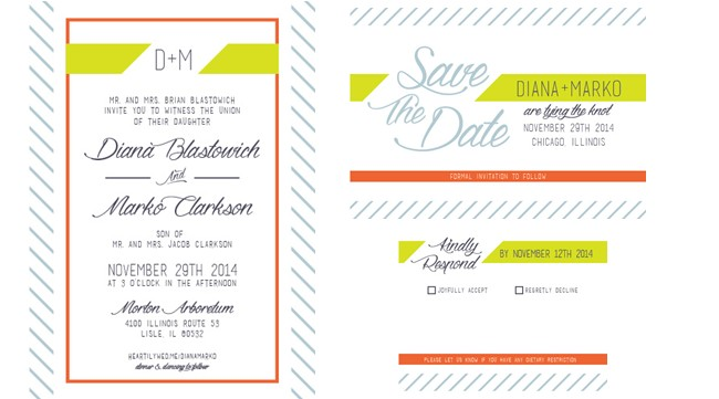 New Free Wedding Invitation Printable Suite