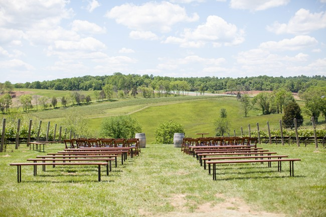 STONE TOWER WINERY, VIRGINIA ceremony location