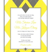 argyle wedding invitation thumb