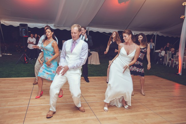 choreographed dance at wedding