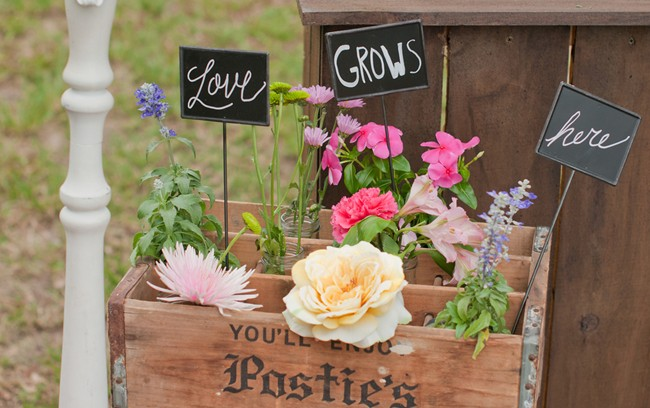love can grow here sign