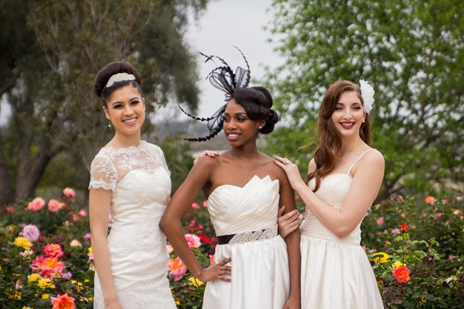 models wearing  Iselle Design Studio in balboa park